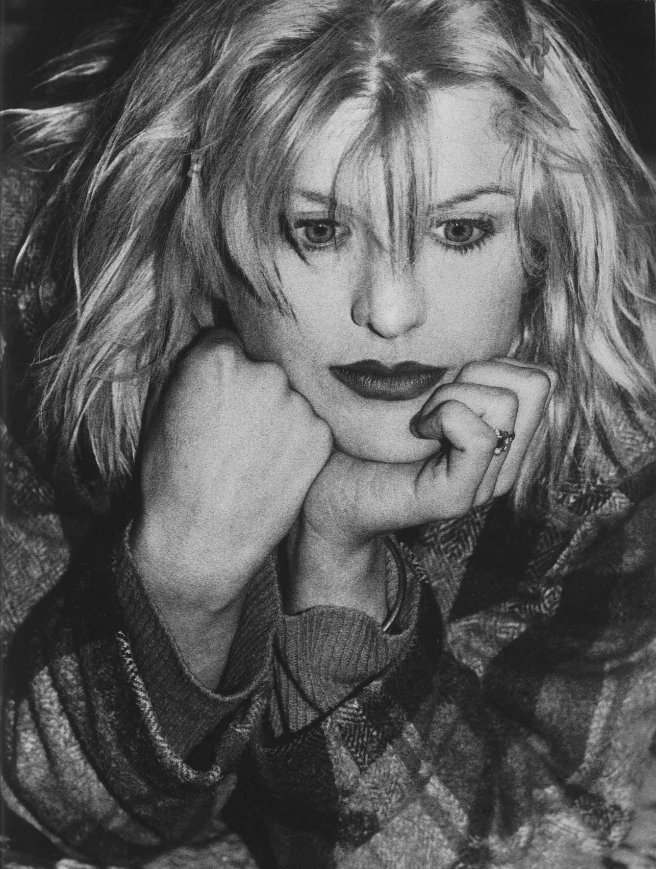 COURTNEY LOVE PHOTOGRAPHY NORMAN WATSON THE FACE NO 53 FEBRUARY 1993