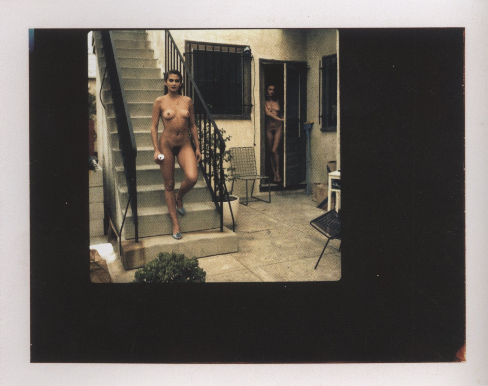 PLAYBOY LOS ANGELES 1986 POLAROID HELMUT NEWTON